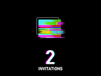 2XDribbble Invites again
