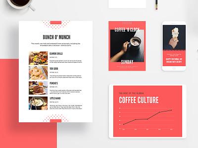 Branding layout flat lay branding stationary