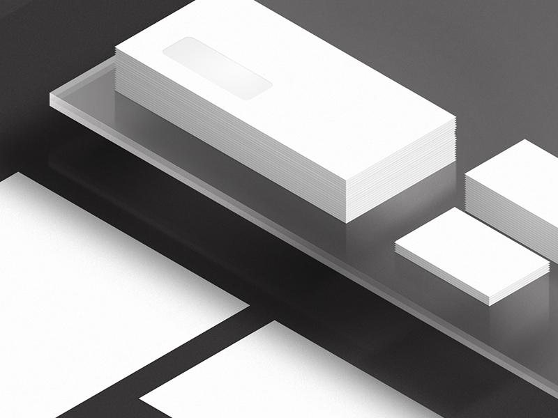 Stationary mockups theme dark isometric branding photoshop psd print mockup stationary