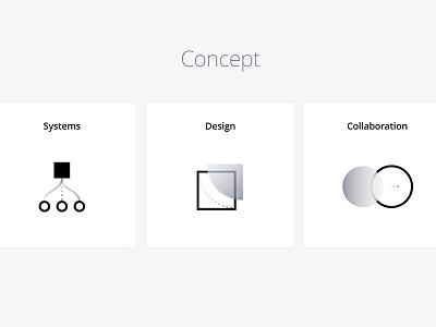 Ideation & concept moodboard idea symbol creative concept