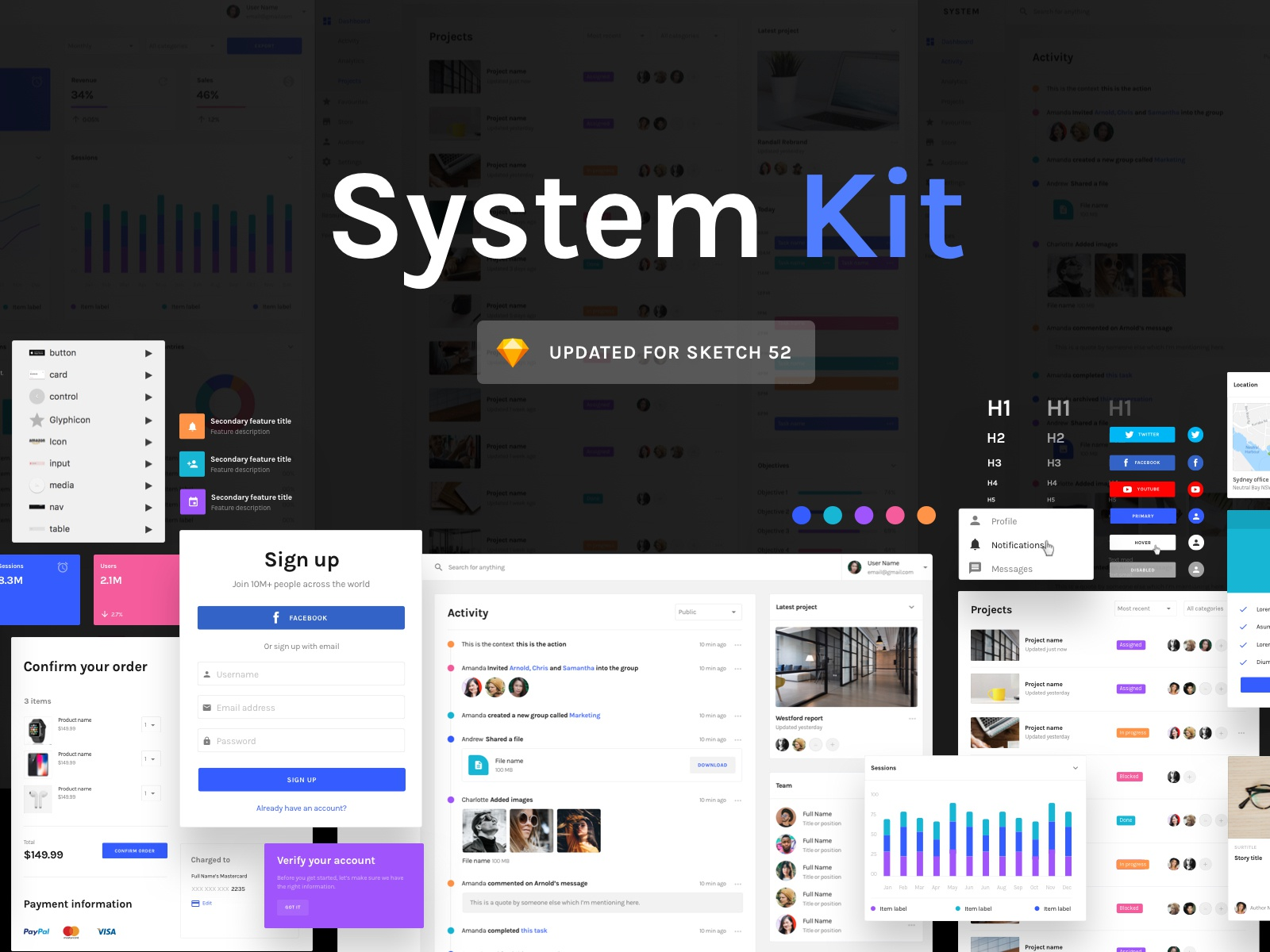 Systemkit dribbble 4x
