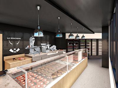 Boucherie boucherie architecture 3d 3dmodeling rendering lumion
