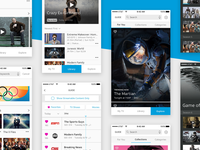 DirecTV NOW App Redesign