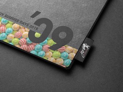 Festival Stationery 📓 stationery logo graphic design design identity design branding redshift3d cinema 4d jazz festival jazz