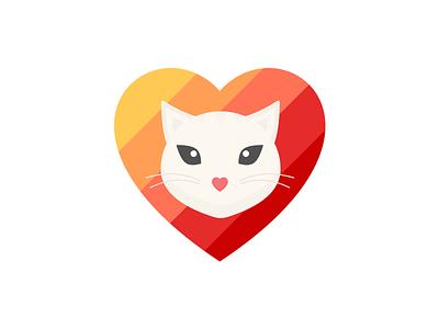 My spirit animal debut spirit animal design meow cat heart