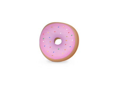 Sweet Dreams yum carbs snack sprinkles donut hungry
