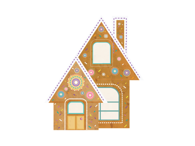 Gingerbread Haus sweet tooth holidays gingerbread house