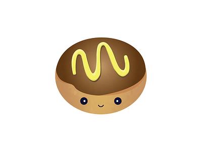 custard filled donut coffee break donut happy