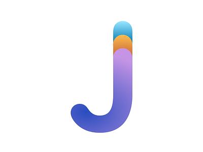 J branding design typography branding and identity branding
