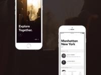 Travel App Branding