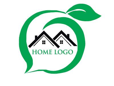 HOME LOGO tshirt art graphic design unique logo شعار شعار العقارات logodesign شعارات busness logo modern logo house logo logo design logos logo home logo