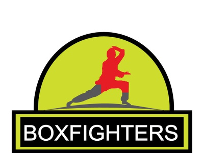 BOXIN LOGO شعارات شعار العقارات graphic design boxing logo boxing logodesign logo busness logo modern logo house logo logos