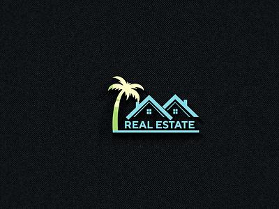 REAL ESTATE LOGO tshirtdesign graphic design شعارات-عربية شعار logodesign شعار العقارات شعارات busness logo modern logo house logo real estate logo logos logo