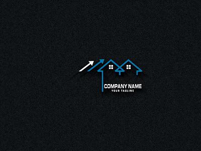 REAL ESTATE COMPANY modern logo 2020 شعارات-عربية شعار logodesign busness logo شعار العقارات شعارات modern logo house logo logo design logos logo real estate logo
