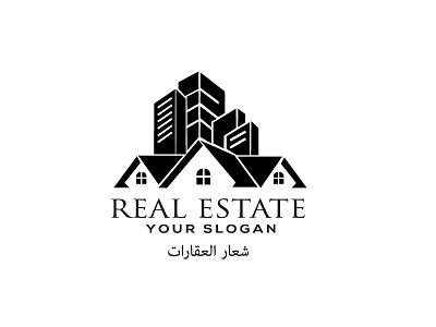 real estate logo logo design design graphic design شعار العقارات illustration unique logo logodesign busness logo modern logo logos house logo home logo real estate logos real estate logo