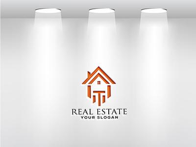 real estate logo tshirt design graphic design branding شعارات-عربية logo design شعار العقارات logodesign logo busness logo modern logo house logo logos