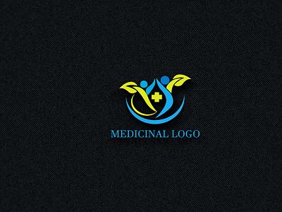 MEDICINAL LOGO graphic medicinal logo medicinal logo design graphic design شعارات-عربية illustration logo design real estate logo logodesign شعار العقارات busness logo modern logo house logo logos