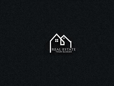 real estate logo logo designer logo design graphic design vector ui illustration branding شعار العقارات unique logo busness logo modern logo house logo logos realestate real estate logo