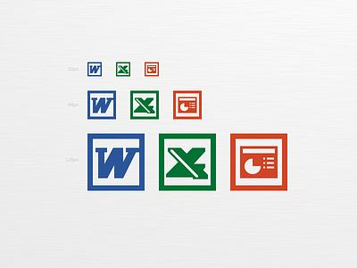 Microsoft Office logo icon microsoft office logo icon