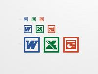 Microsoft Office logo icon
