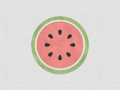 Watermelon watermelon paper fruit