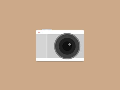 Very Simple Camera camera photograph simple flat