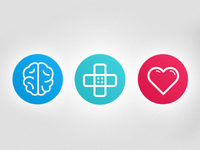 Icons for Psychology Website