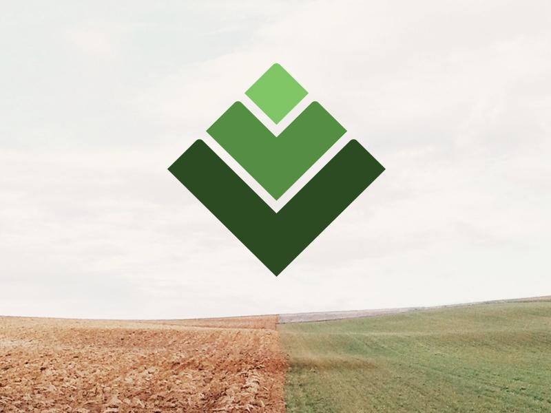 Logo WIP green branding logo geo eco geological