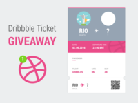 Dribbble Ticket for free!