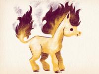#77 Ponyta