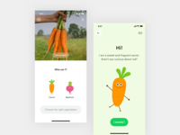 Veggie Story Interface