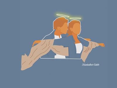 Titanic Art Deco vector illustration logo iraq design inspiration muntadher saleh