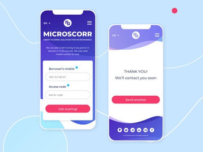 Scorring mobile design