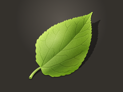 Mobile Shaky Leaf Icon