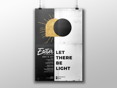 """Easter 2017 """"Let There Be Light"""" Proposal Mockup"""