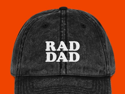 """Father's Day 2019 """"Rad Dad"""" Dad Hat Proposal"""