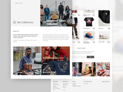 E-commerce Home Page