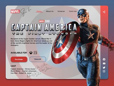 Gaming Landing Page dailyui userinterface ui flat figma dribble shot dribble designinspirations design branding