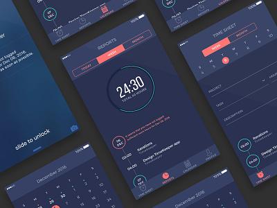 Time logging app  timellogging tracker ios time sketch