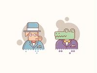 Pig & Alligator