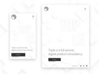Tuple Mobile and Tablet Layouts
