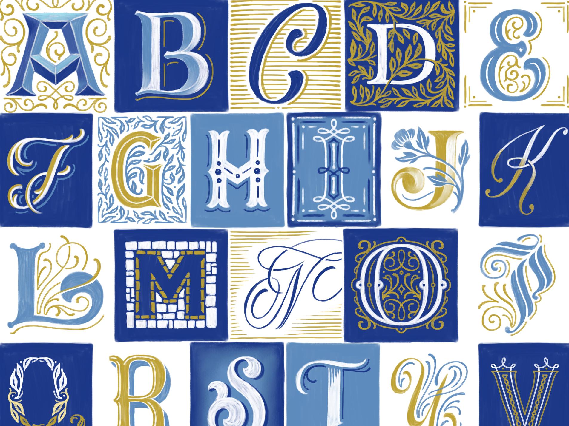 Homwork alphabet