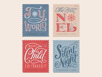 Christmas Stamps Series