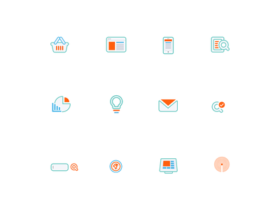 Service Icons icons services line user interfaces ui web webdesign flat icon