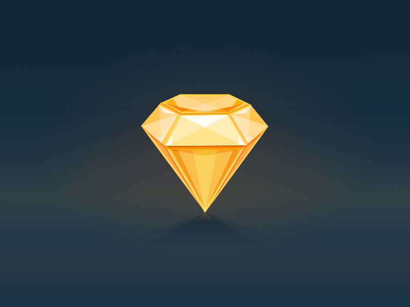 Sketch icons shadow bling illustrations tools app sketch diamond