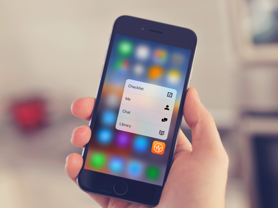 Force Touch Wellframe! apps iphone icons development ios 3d touch force touch wellframe
