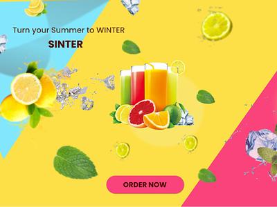 SINTER branding logo graphic design