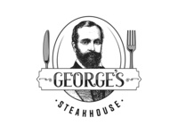 Georges Steakhouse Logo A