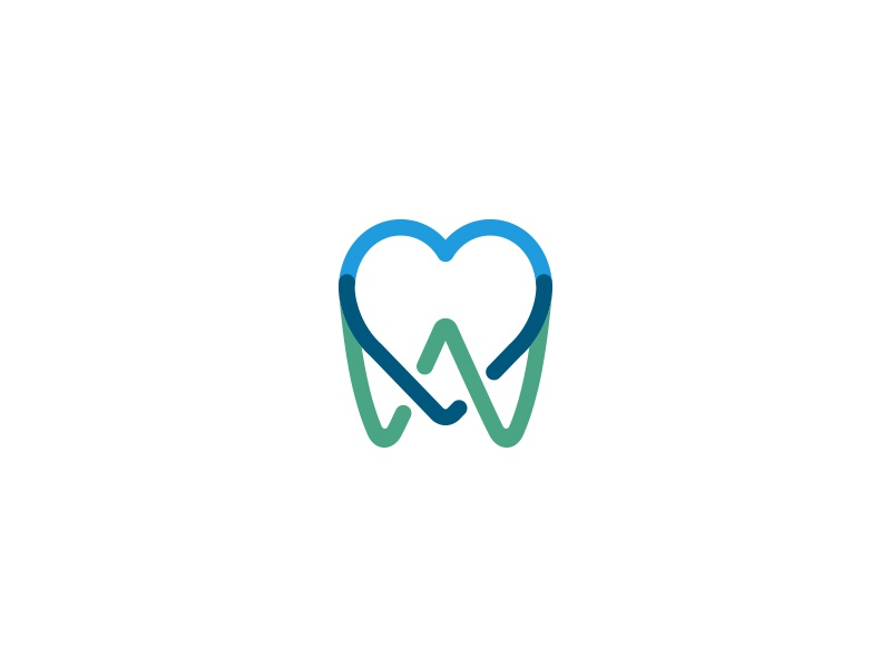 Heart-tooth tooth heart dentist