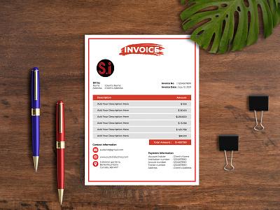 Invoice Template Design design illustration templates flyers graphicdesign business flyer brochure brand branding design branding stationary template design stationary template stationary design stationary invoicing a4 invoice template design invoice template invoice design invoice